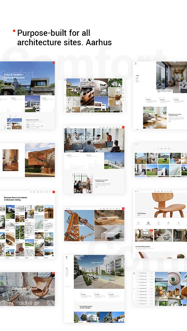Aarhus - Tema de la arquitectura moderna - 2