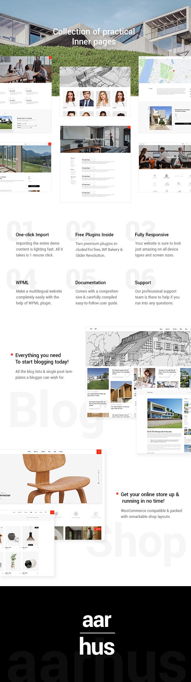 Aarhus - Tema de la arquitectura moderna - 6